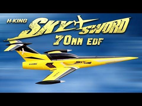 H-King SkySword 70mm EDF Jet 990mm - HobbyKing Product Video - UCkNMDHVq-_6aJEh2uRBbRmw