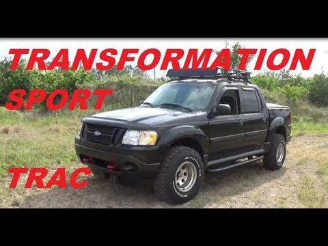TRANSFORMATION 2004  FORD SPORT TRAC  MUNNDAY86 EDITION - UCEPQf2fSnWEl2c8D8pJDULg