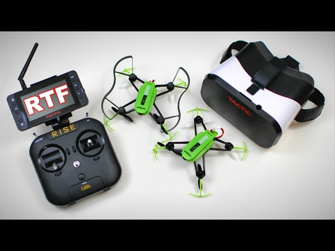 NEW FPV House Racer - RISE Vusion 125 RTF Quad Race Drone Pack FULL REVIEW - TheRcSaylors - UCYWhRC3xtD_acDIZdr53huA