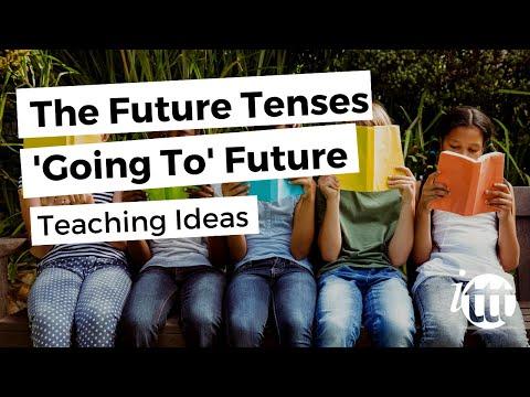 The Future Tenses - 'Going To' Future - Teaching Ideas