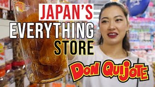 JAPAN'S EVERYTHING STORE 'DONKIHOTE' | The ultimate shopping experience in Japan!