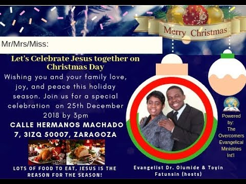 Special Christmas Outreach 2018