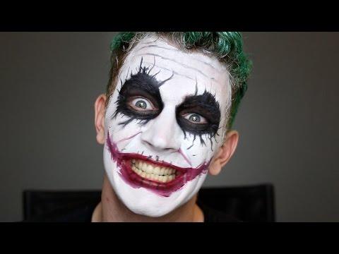 Joker Halloween Makeup Tutorial | Bosslady Shruti - default
