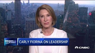 People don't trust unless there's transparency, says Carly Fiorina on tech regulation