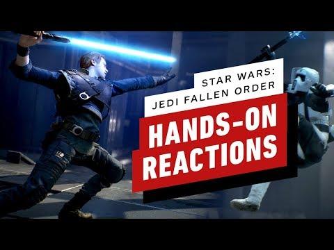 Star Wars Jedi: Fallen Order - The Final Hands-On Impressions - UCKy1dAqELo0zrOtPkf0eTMw