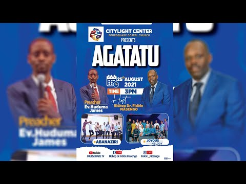 FOURSQUARE TV  - AGATATU - HAMWE NA EV. HUDUMA James - 25.08.2021