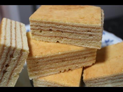 How to Make Layered Honey Cake - 千層蜜蜂蛋糕 - UC_AHBPa4BFDbi13foKH3W0A
