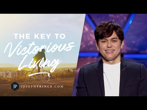 The Key To Victorious Living  Joseph Prince