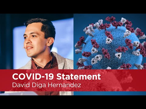 COVID-19 Statement: David Diga Hernandez