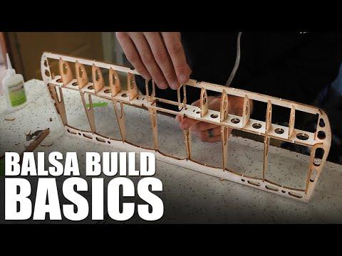 Flite Test | Balsa Building Basics - UC9zTuyWffK9ckEz1216noAw