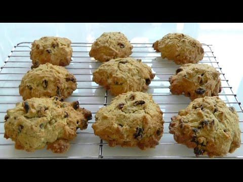 Go bake ROCK CAKES today! How to make easy recipe