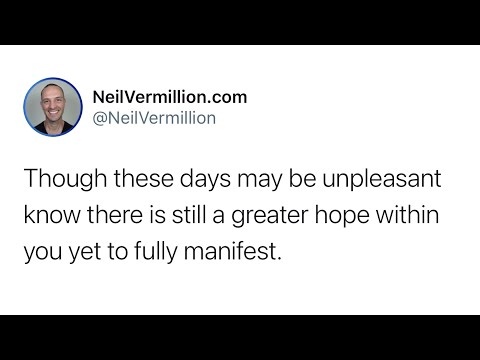 The Comfort Of My Presence - Daily Prophetic Word