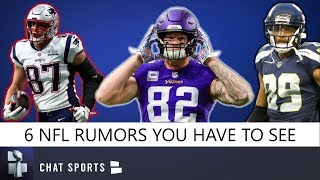 NFL Rumors: Doug Baldwin Retired, Kyle Rudolph Trade, Hard Knocks 2019, Rob Gronkowski Returning?