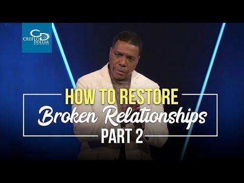 How To Restore Broken Relationships Pt.2 - Sunday Service