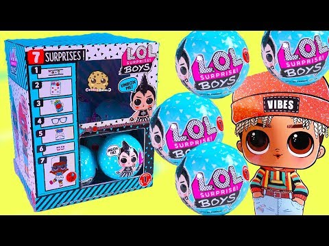 Box Of NEW LOL Surprise BOYS Mystery Blind Bags ! (Almost) Full Set - Video - UCelMeixAOTs2OQAAi9wU8-g