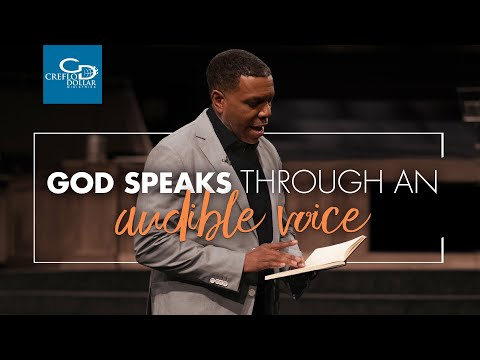 God Speaks Through An Audible Voice - Wednesday Service