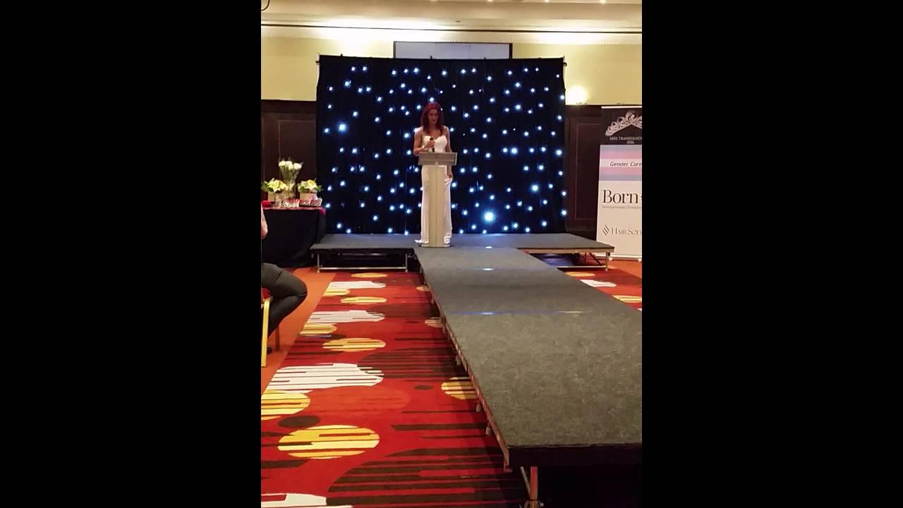 Miss Transgender Scotland 2016 nicola