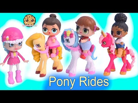 LOL Surprise Horse Ride with Happy Places Shopkins Shoppies + Blind Bags - UCelMeixAOTs2OQAAi9wU8-g