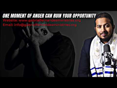 ONE MOMENT OF UNCONTROLLED ANGER CAN RUIN YOUR WHOLE LIFE, POWERFUL MESSAGE & PRAYERS