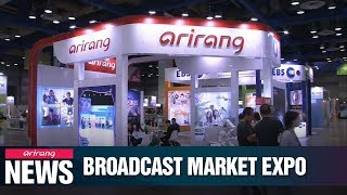 S. Korea's biggest broadcast contents market 'BroadCast WorldWide' kicks off in Seoul