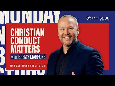 Christian Conduct Matters  Pastor Jeremy Marrone  2020 Bible Study