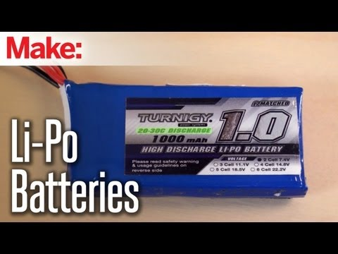 Maker Hangar: Episode 4 - Li-Po Batteries - UChtY6O8Ahw2cz05PS2GhUbg