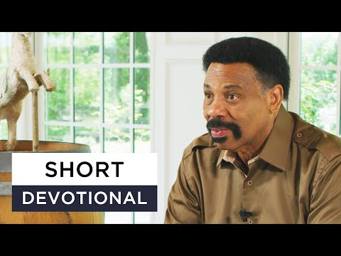 Our Submission Determines Our Authority - Tony Evans Devotional