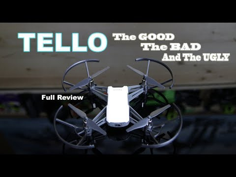 RYZE DJI TELLO - The GOOD The BAD & The UGLY - DRONE REVIEW - UCm0rmRuPifODAiW8zSLXs2A