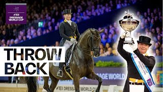 When Isabell Werth claimed her 4th Dressage title in Paris #Throwback | FEI Dressage World Cup™