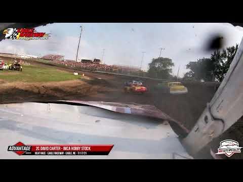 2c David Carter   Eagle Raceway   7-17-21 - dirt track racing video image