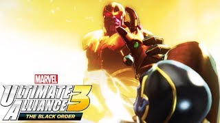 Thanos Saves his Son from the Infinity Stones - MARVEL ULTIMATE ALLIANCE 3 THE BLACK ORDER