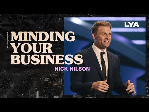 Minding Your Business  Nick Nilson