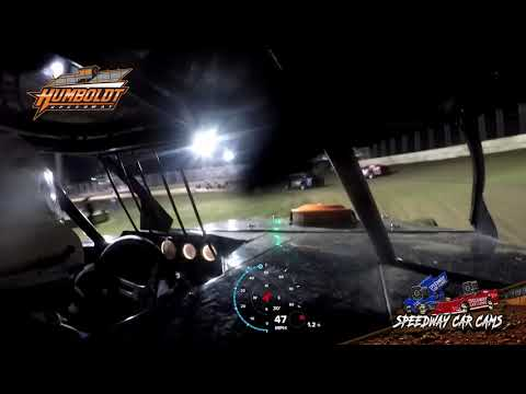 #23 Toby Sherrill - Midwest Modified - 10-2-2020 Humboldt Speedway - In Car Camera - dirt track racing video image