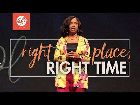 Right Place Right Time - Wednesday Morning Service