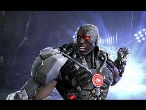 Injustice - Cyborg vs Nightwing Walkthrough - PAX 2012 - UCOmcA3f_RrH6b9NmcNa4tdg