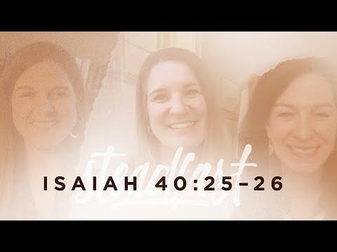 Jen Wilkin  Isaiah 40:2526
