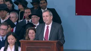 Address by Harvard President Larry Bacow | Harvard Commencement 2019