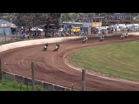 Rosebank Speedway - FLAT TRACKERS - 25.10.20 (4K) - dirt track racing video image