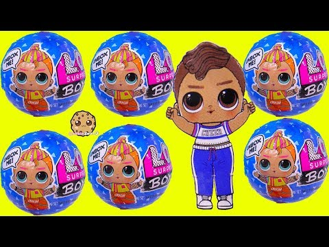 LOL Surprise BOYS Series 2 Blind Bag Color Change Water Dolls Video - UCelMeixAOTs2OQAAi9wU8-g