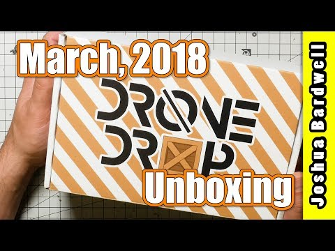 DRONE DROP | March 2018 Unboxing AND GIVEAWAY - UCX3eufnI7A2I7IkKHZn8KSQ