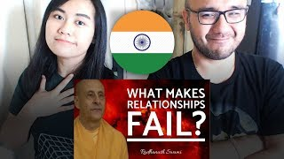 Indonesians React To What Makes Relationships Fail? | Radhanath Swami