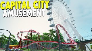 [LIVE🔴] NEW AMUSEMENT PARK BUILD in Greatest Capital City | Cities: Skylines Gameplay