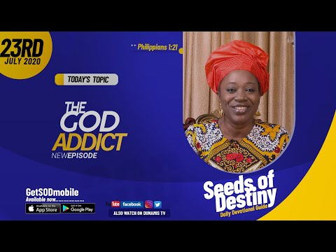 Dr Becky Paul-Enenche - SEEDS OF DESTINY - THURSDAY JULY 23, 2020