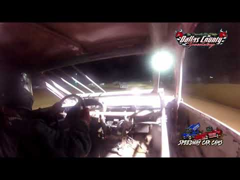 #27 Ty Davis - 4 Cylinder - 8-20-2021 Dallas County Speedway - In Car Camera - dirt track racing video image