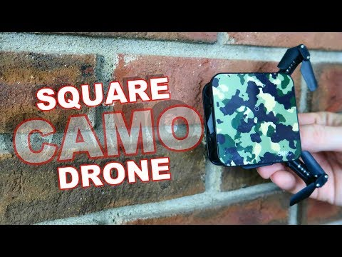 Camo Folding Drone - SMRC S1 Indoor FPV Quadcopter - TheRcSaylors - UCYWhRC3xtD_acDIZdr53huA