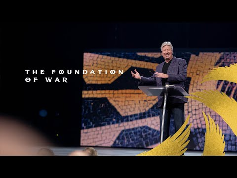 Gateway Church Live  The Foundation of War by Pastor Robert Morris  Feb 28