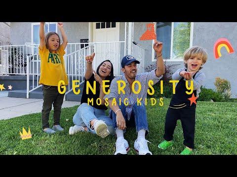 MOSAIC KIDS  Generosity  Sunday, May 3