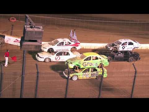 Perris Auto Speedway Night Of Destruction Double Decker Main Event         7-3 -21 - dirt track racing video image
