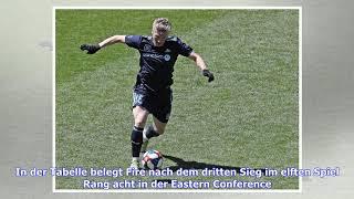 VIDEO: Bastian Schweinsteiger mit Vorlage bei Chicago-Kantersieg