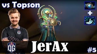 JerAx - Oracle Offlane | vs Topson (Faceless Void) | Dota 2 Pro MMR Gameplay #5